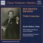 Beethoven, Brahms: Violin Concertos (2000)