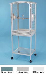 Acrylic-Parrot-Bird-Cage-Scallop-Top-Cockatiel-Conure-21-5-x-18-5-x-61