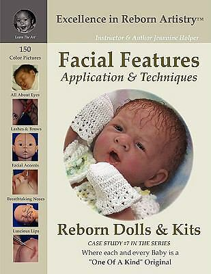 Facial Features for Reborning Dolls and Reborn Doll Kits CS#7 - Excellence in...