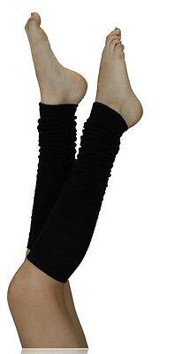 Black Leg Warmers Extra Long Thigh High Dancewear SX11