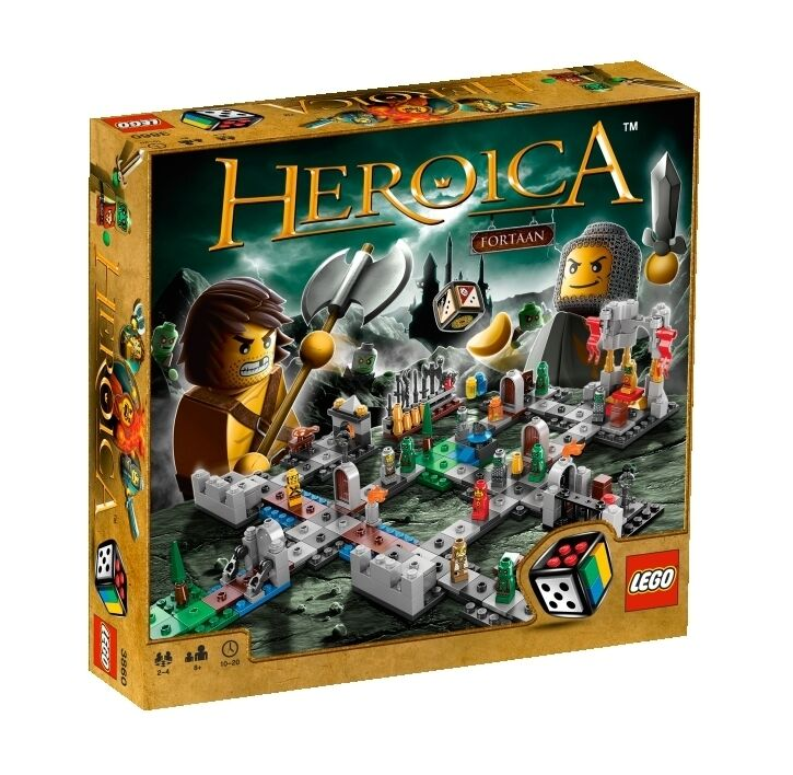 Lego HEROICA Castle Fortaan 3860 NEW SEALED BOX BUILDING GAME