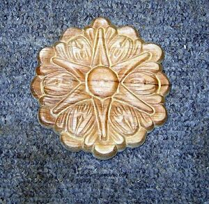 WOOD-EMBOSSED-APPLIQUE-CARVING-4-DIA-HQ308