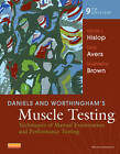 Daniels and Worthingham's Muscle Testing 9e by Helen Hislop (Spiral bound, 2013)