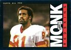 1985 Topps Art Monk Washington Redskins #185 Football Card