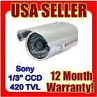 "Night Vison Ir Waterproof Outdoor Sony 1/3"" Ccd 36 Ir Color Security Camera Cctv"