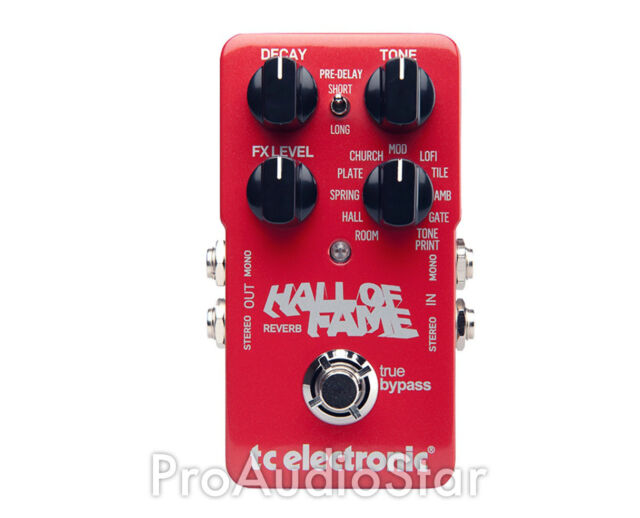 TC Electronic Hall of Fame Reverb Pedal NYC PROAUDIOSTAR --
