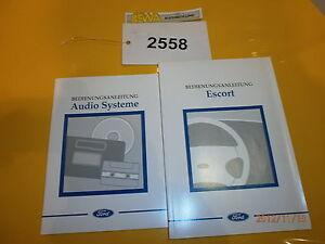 Bedienungsanleitung-fuer-Ford-Escort-Nr-2558