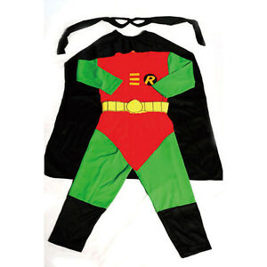 Robin-Hero-Kid-Boy-Fancy-Party-Costumes-Outfit-Age-2y-7y-FC007