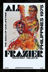 MUHAMMAD-ALI-JOE-FRAZIER-LEROY-NEIMAN-THRILLA-IN-MANILA-BOXING-POSTER-1975