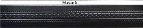 70 cm bis 180 cm Bundweit ab 12,90 Euro Leder Guertel Muster und Länge Wäh 15103