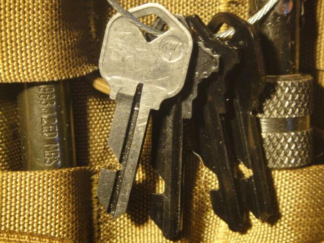 Tactical Lok-Kill Key Set.Tad special forces gear  For CQB & Egress Blocking K02
