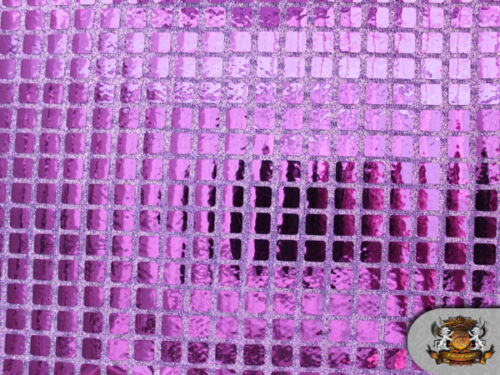 SQUARE SEQUIN 6.85mm FABRIC BY THE YARD