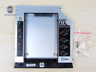 SATA 2nd HDD SSD Hard Drive caddy for Dell E6330 E6430 E6430s E6430-ATG E6530