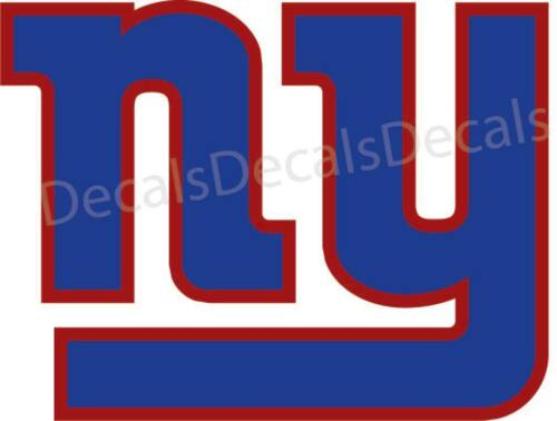 New York Football Giants Decal//Sticker Printed and Die Cut Manning Free Ship