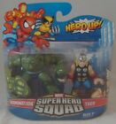 Hasbro Marvel Superhero Squad Series 17 Mini 3 Inch Figure 2Pack Thor and Abomination