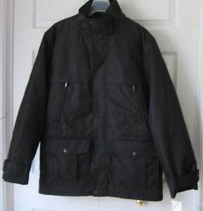 nwt michael kors 2 in 1 mens black winter thur sping jacket coat m ebay. Black Bedroom Furniture Sets. Home Design Ideas