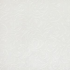 Image Is Loading PLAIN WHITE IVORY DAMASK PVC VINYL TABLECLOTH MANY