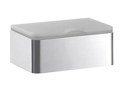 Derby style Feuchtpapierbox Papierhalter für feuchtes Toilettenpapier *verchromt