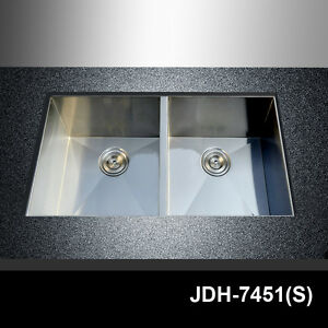 29-034-x-20-034-18-Gauge-Stainless-Steel-Double-Bowl-Hand-Made-Undermount-Kitchen-Sink