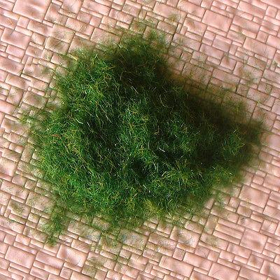 200g ( or 7.06 ounce ) GRASS FIBRE 3mm Dark Green #122