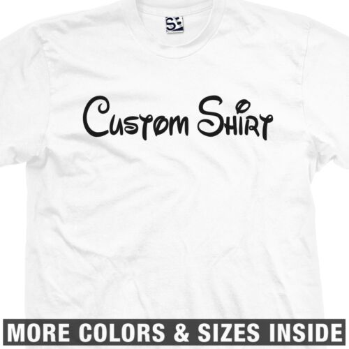 Personalized Family Vacation Cruise All Sizes /& Colors Custom Disney T-Shirt