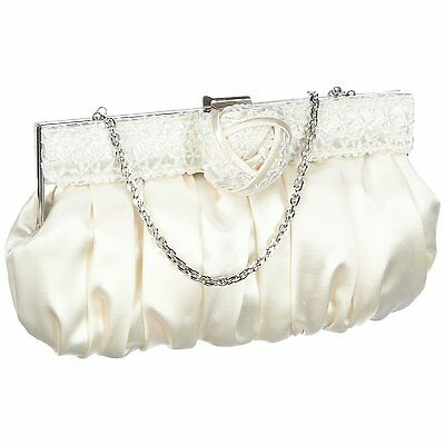 MENBUR MARIANA IVORY BRIDAL WEDDING BAG RRP £60