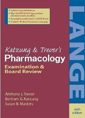 Katzungs pharmacology examination and board review by bertram g katzungs pharmacology examination and board review by anthony j trevor fandeluxe Choice Image