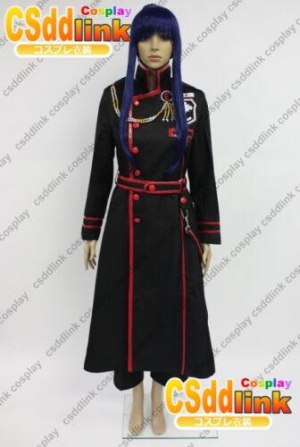 D.Gray-man 3 HALLOW Crown Clown Yu Kanda Cosplay costume uniform DGM01