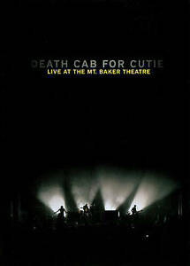 Death-Cab-For-Cutie-Live-at-the-Mt-Baker-Theatre-DVD-Region-0-Very-Good