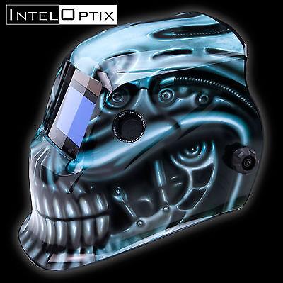 Auto Darkening welders Solar Welding Helmet Mask with Grinding Function