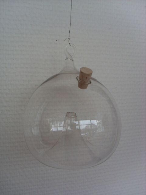 Fliegenfalle Lauscha Glas Handarbeit mundgeblasen Obstfliegen