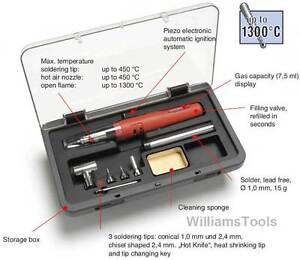 Weller-Cordless-Gas-Soldering-Iron-Solder-Hot-Air-Kit