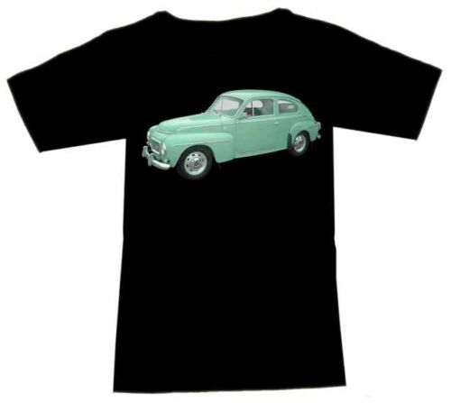 T-Shirt mit Volvo Automotive Fruit Of The Loom S M L XL 2XL 3XL