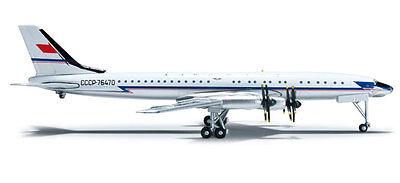 Herpa Wings 523073 Aeroflot Tupolev TU-114 1/500 Scale Diecast Model