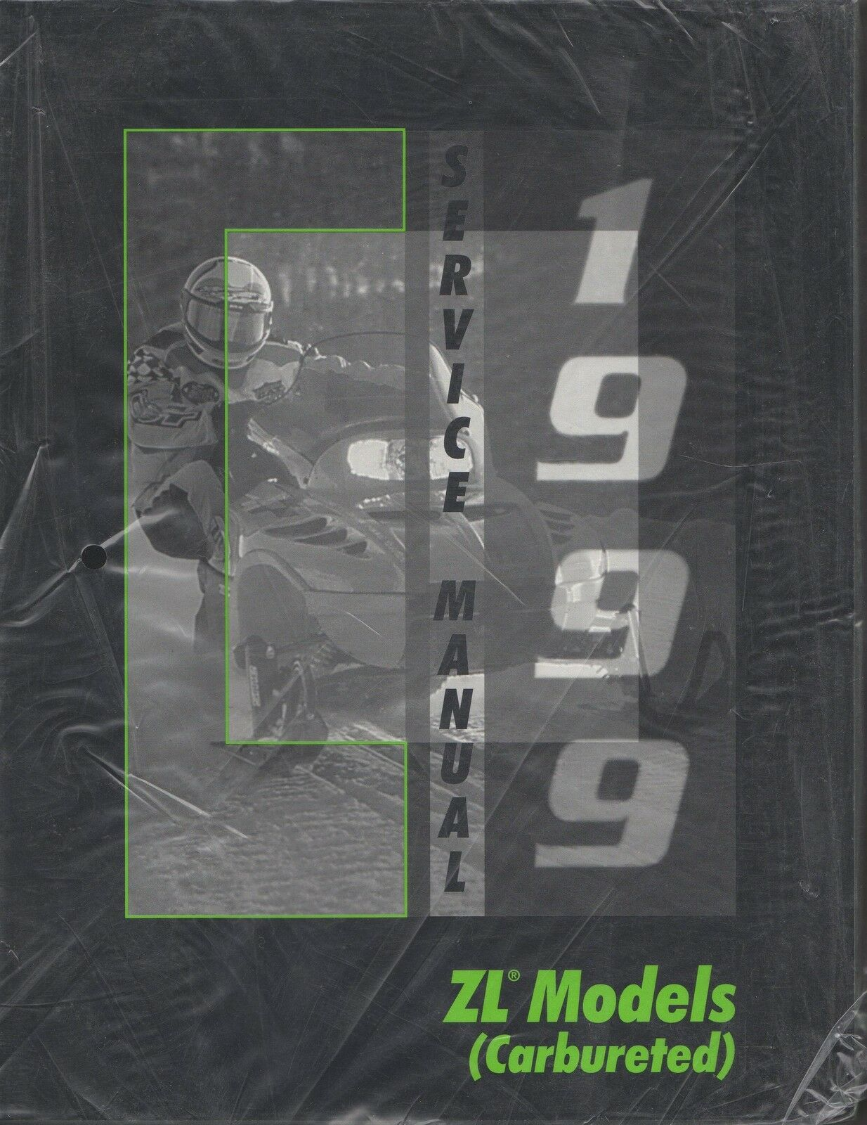 1999 ARCTIC CAT SNOWMOBILE ZL MODELS  (CARBURETED) SERVICE MANUAL P N 2255-937