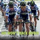 We Won't Back Down: On the Road with Orica-Greenedge by Rupert Guinness (Hardback, 2013)