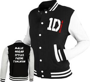 ONE-DIRECTION-inspired-Varsity-Jacket-1D-tour-black-white-Styles-Malik-Horan