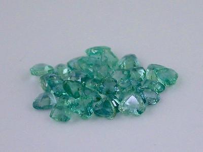 Closeout Lot #2 Emeralds 4.5 mm Heart Shape 7.85 ct. tw.
