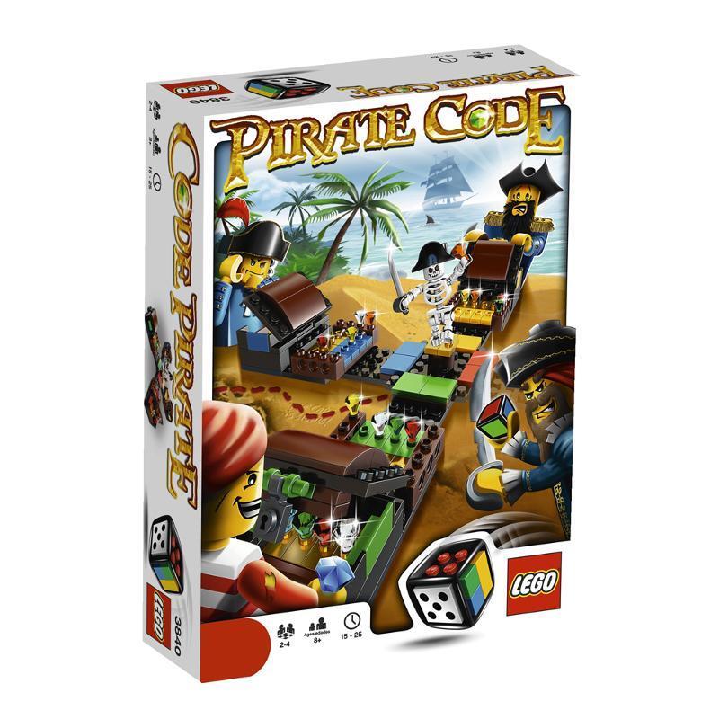 LEGO Games 3840  Pirate Code New sealed  Free P&P @ MrsMario's