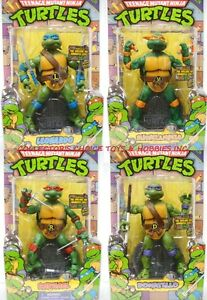 TEENAGE-MUTANT-NINJA-TURTLES-TMNT-1988-RETRO-SET-OF-4-LEONARDO-RAPHAEL-DONATELLO