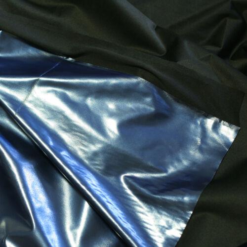 "SHINY METALLIC PVC VINYL for DANCE GOTH DRESS CATSUIT CORSET BALLOONS FABRIC 54/"""