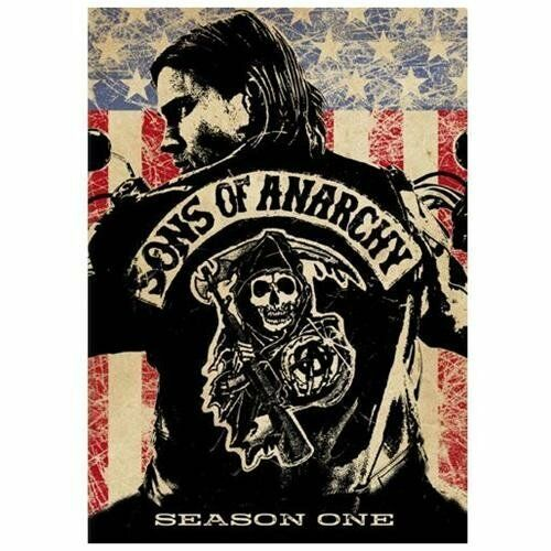 Sons of Anarchy - Season 1 (DVD, 2009, 4-Disc Set)