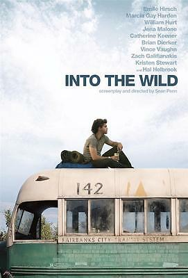 Into the Wild Movie Poster . One Piece Wall Art Print.