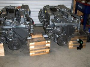 Pair-Yanmar-6LP-6LPA-STE-STP-315HP-Marine-Diesel-Engine-Rebuilt-Repower