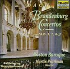 Johann Sebastian Bach - Bach: Brandenburg Concertos Nos. 1, 2 & 3 (1994)