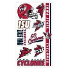 Iowa State Cyclones ISU NCAA Temporary Tattoos (10 Tattoos)