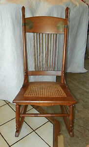 Quartersawn-Oak-Caned-Sewing-Rocker-Rocking-Chair-R66