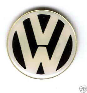 Automotive-collectibles-Volkswagen-logo-Button-style-magnet-Very-cool