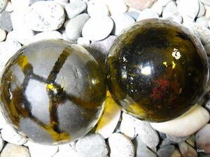 Brown Authentic Japanese/Korean Glass Fishing Floats Alaska Beach Combed
