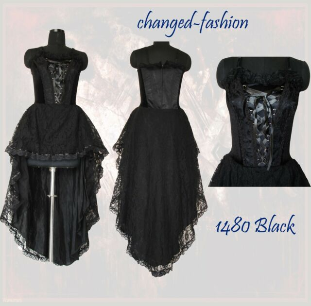 Women Corset Gothic Halloween Formal Dress Victorian Prom Bridesmaid Diff Sizes